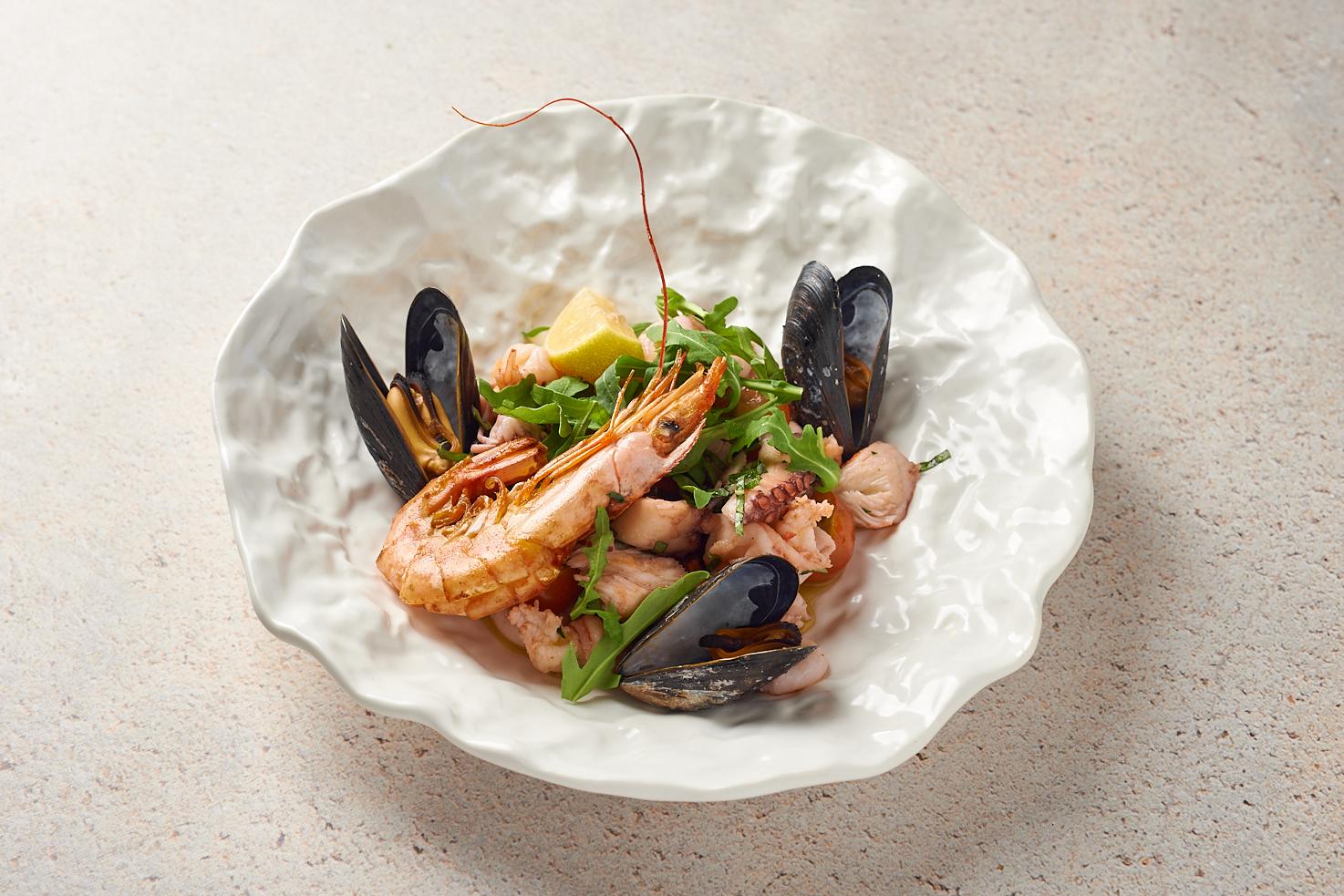 «Каталана» из морепродуктов
