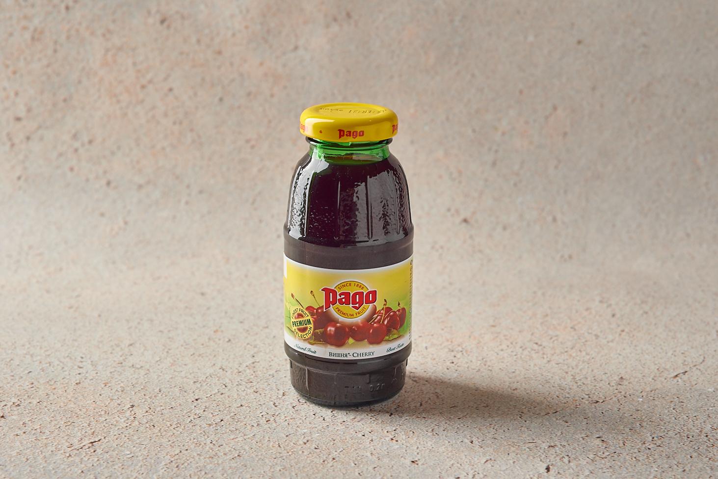 Сок Pago вишня