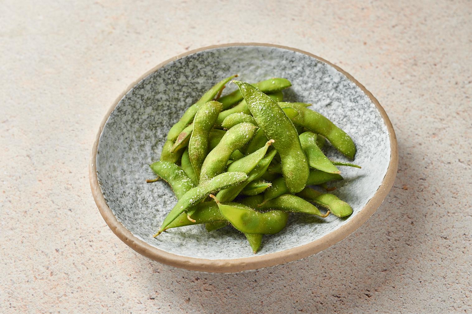 Зеленые бобы «Эдамаме» с морской солью